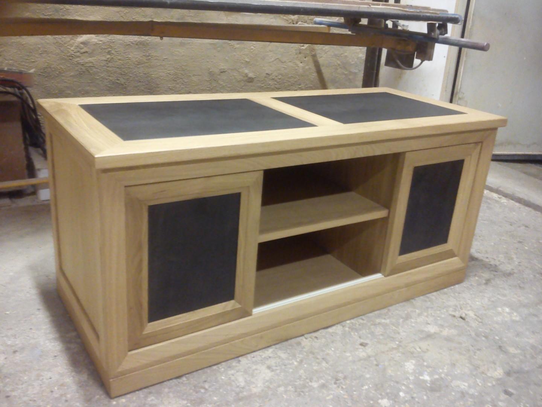 r alisations meuble tv mathieu meubles d 39 art. Black Bedroom Furniture Sets. Home Design Ideas